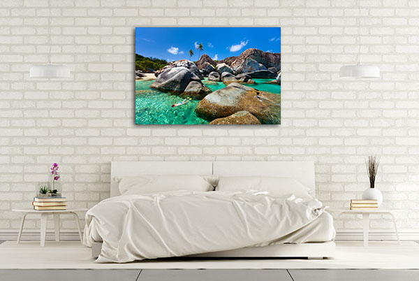 British Virgin Islands Canvas Artwork