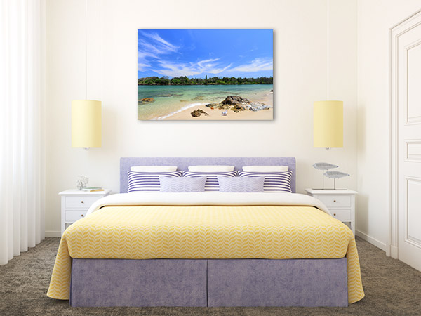 Brunswick Heads Canvas Print NSW Beach Art Picture