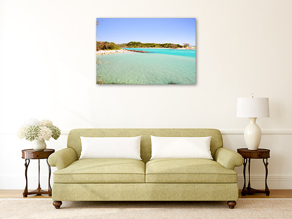 Brunswick Heads Wall Art Print NSW Beach Photo Canvas