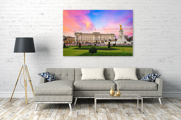 Buckingham Palace Print Picture