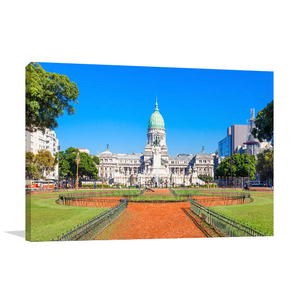 Buenos Aires Art Print Sunny Day Artwork
