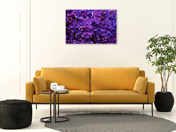 Bunch of Lilacs Print Wall Art