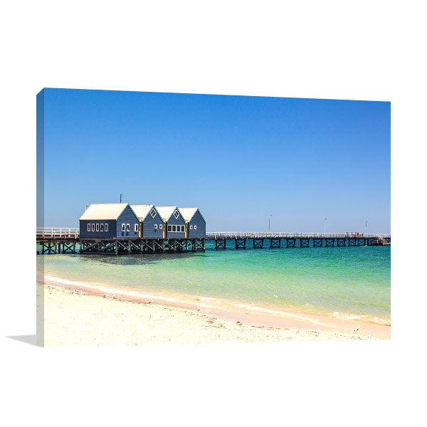 Busselton Jetty Wall Art Print WA Canvas Photo