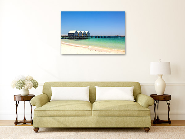 Busselton Jetty Wall Art Print WA Photo Canvas
