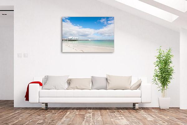 Busselton Jetty Canvas Photo Print