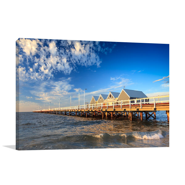 Busselton Jetty Wall Print WA Art Picture