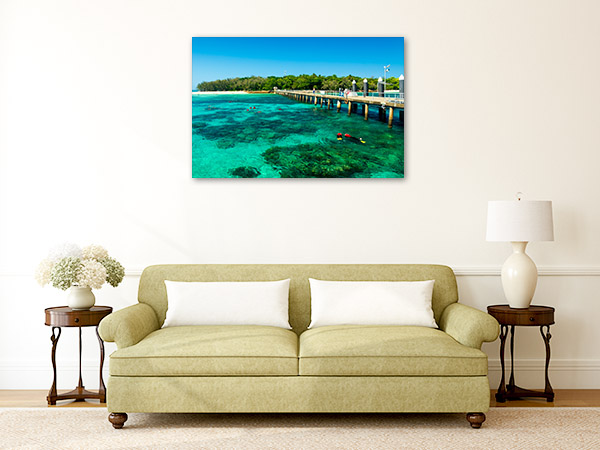 Cairns Art Print Green Island Picture Artwork