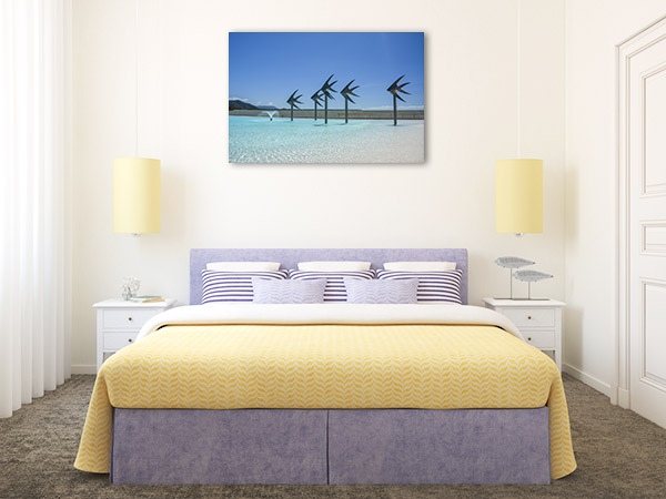 Cairns Canvas Print Swimming Lagoon Photo Artwork