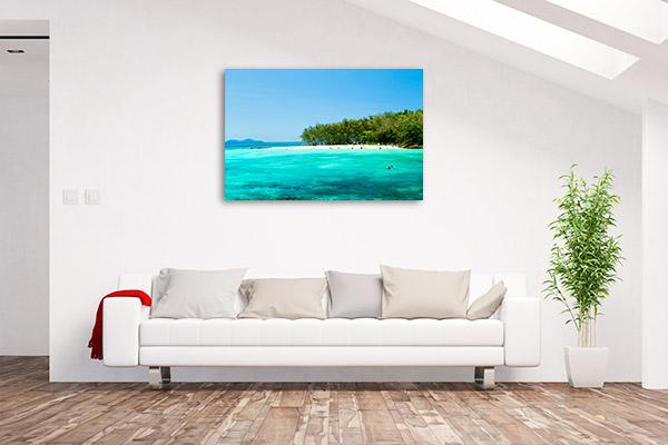Cairns Wall Art Print Green Island Artwork