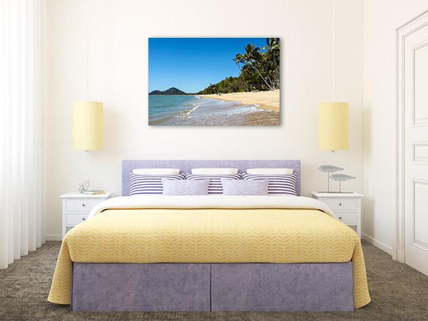 Cairns Wall Print Clifton Beach Shore Photo Canvas