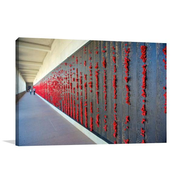 Canberra Art Print Australian War Memorial Artwork Canvas