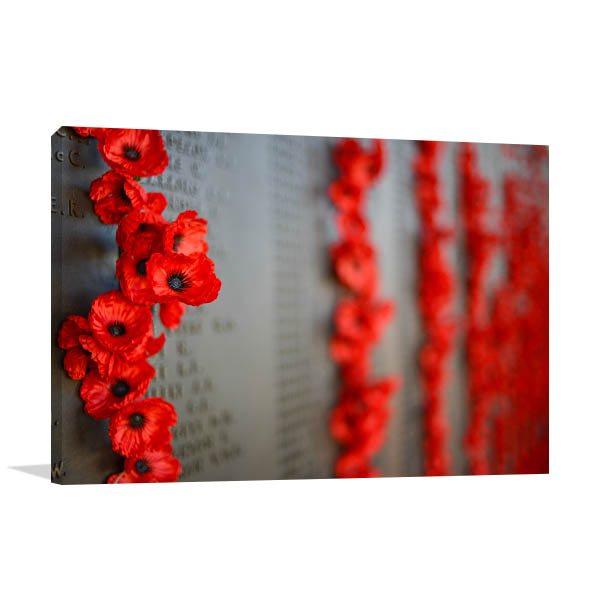 Canberra Canvas Print Australian War Memorial Wall Art