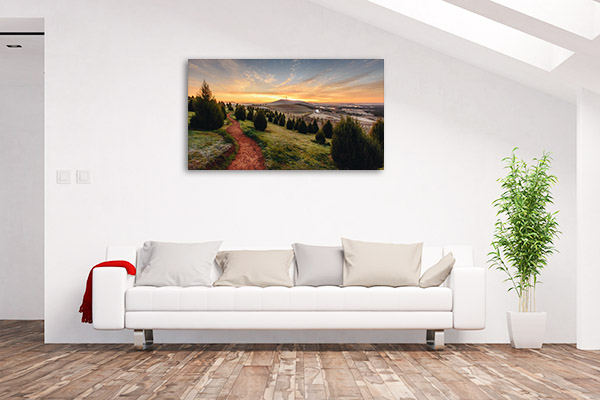 Canberra Wall Art Print National Arboretum Artwork Picture