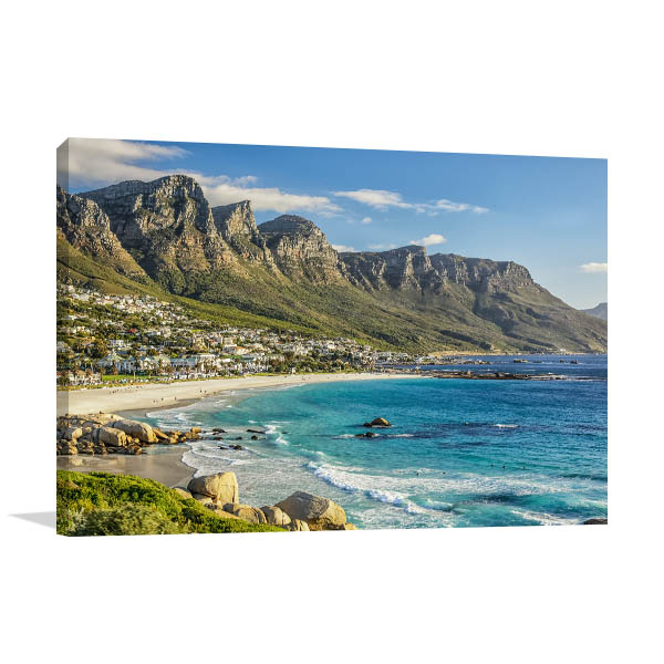 Cape Town Art Print Camps Bay Photo Artwork