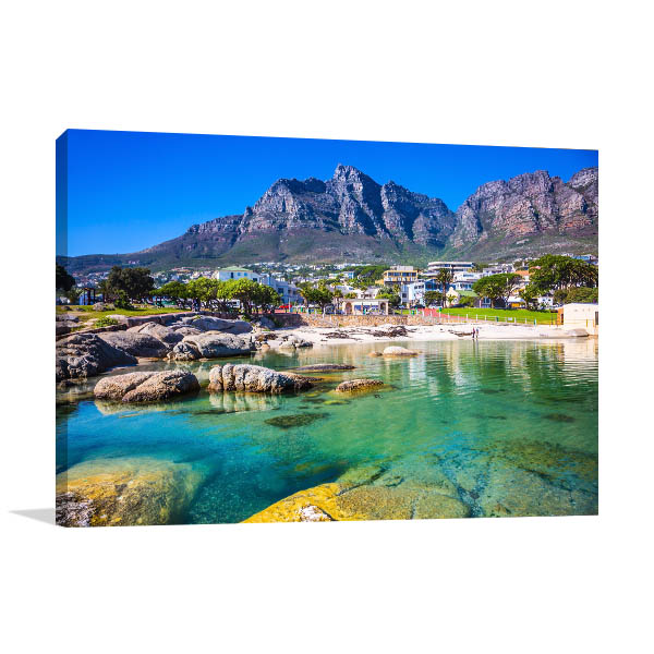 Cape Town Panorama Print Artwork