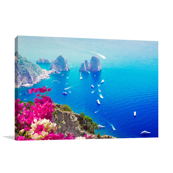 Capri Island Italy Art Photo