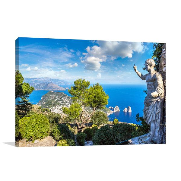 Capri Island Summer Photo Print