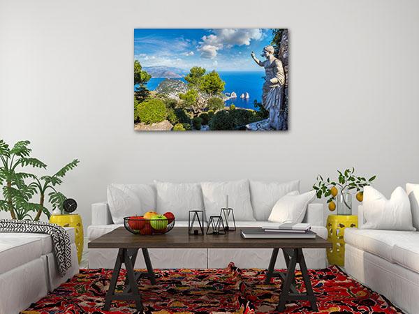 Capri Island Summer Print Photo