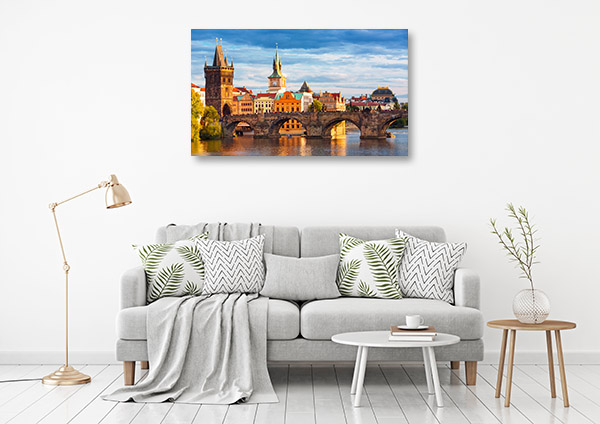 Charles Bridge Art Print Prague Wall Picture
