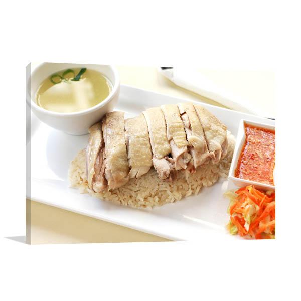 Chicken Rice Artwork Photo