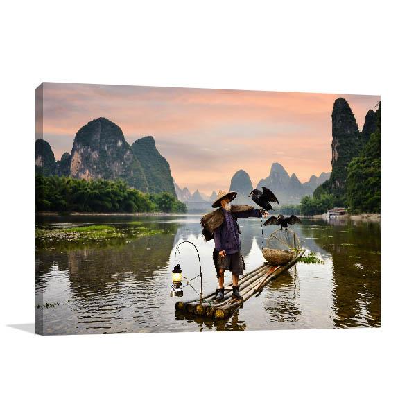 China Art Print Li River Picture Wall