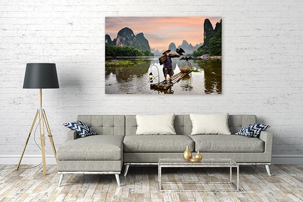 China Art Print Li River Photo Artwork