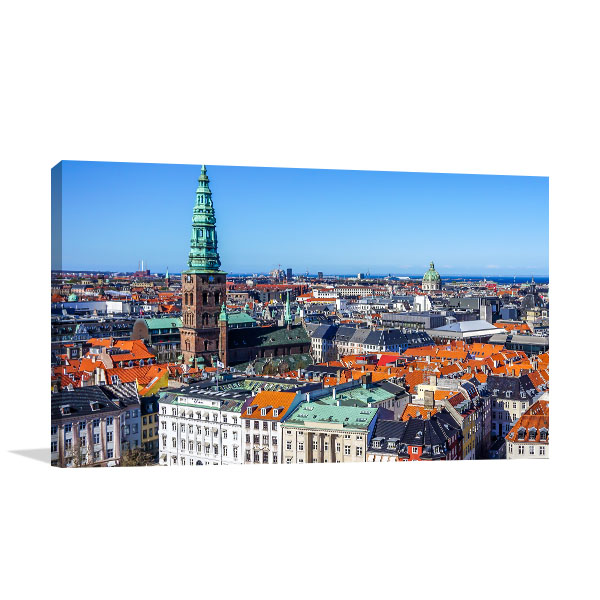 Copenhagen Art Print View Artwork Wall