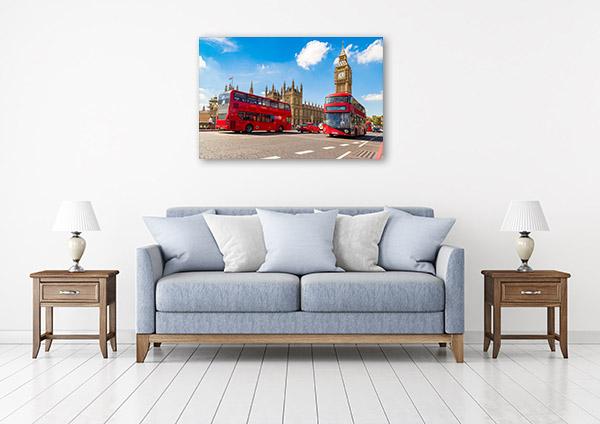 Double-decker Bus London Print Photo Art