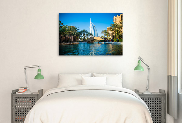 Dubai Art Print Burj Al Arab Canvas Photo