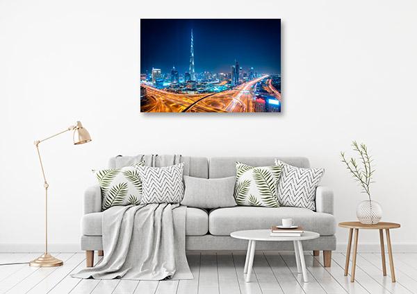 Dubai Art Print Burj Khalifa Wall Canvas