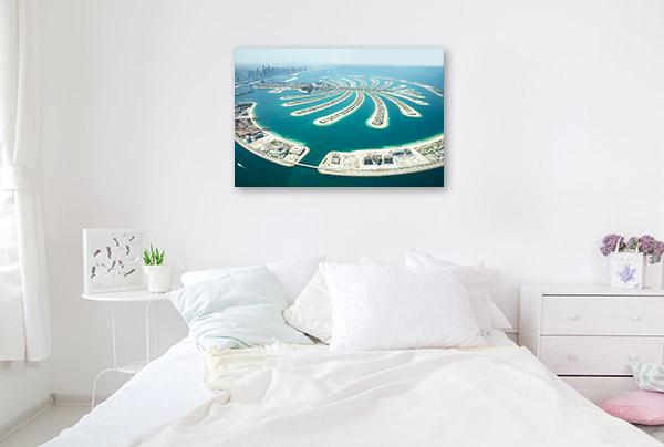 Dubai Art Print Palm Jumeirah Artwork