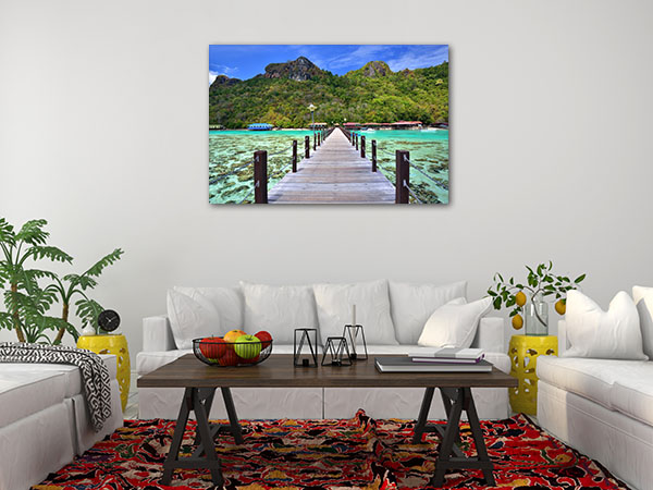 Dulang Island Borneo Wall Art Photo Print