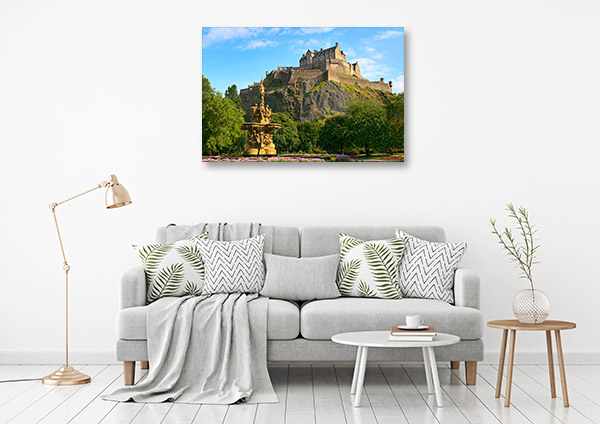 Edinburgh Castle Canvas Art
