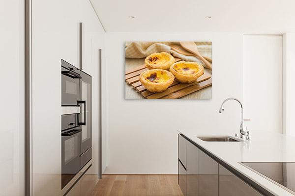 Egg Tarts Photo Art