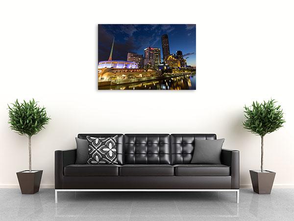 Eureka Tower Canvas Art Print Melbourne State Canvas Wall Art