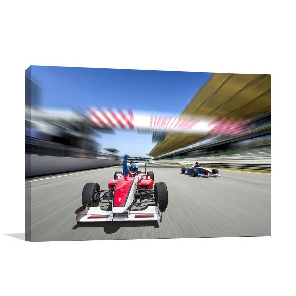 F1 Race Photo Print Wall Art