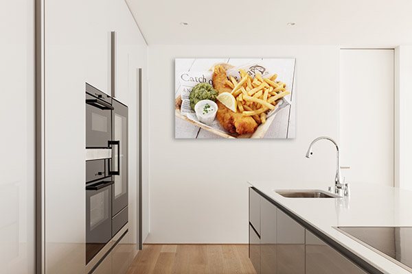 Fish and Chips Print Artwork