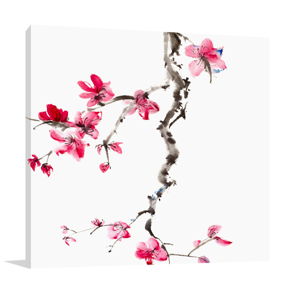 Flower Blossom Wall Art