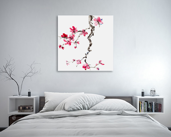 Flower Blossom Canvas Art Prints