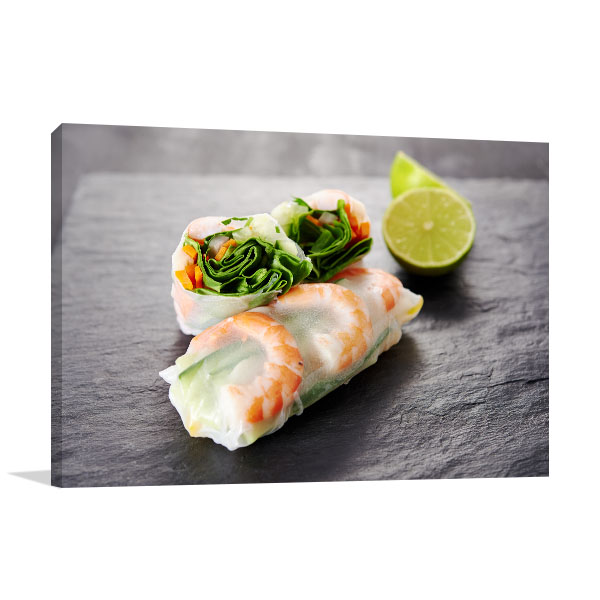 Fresh Spring Roll Wall Art