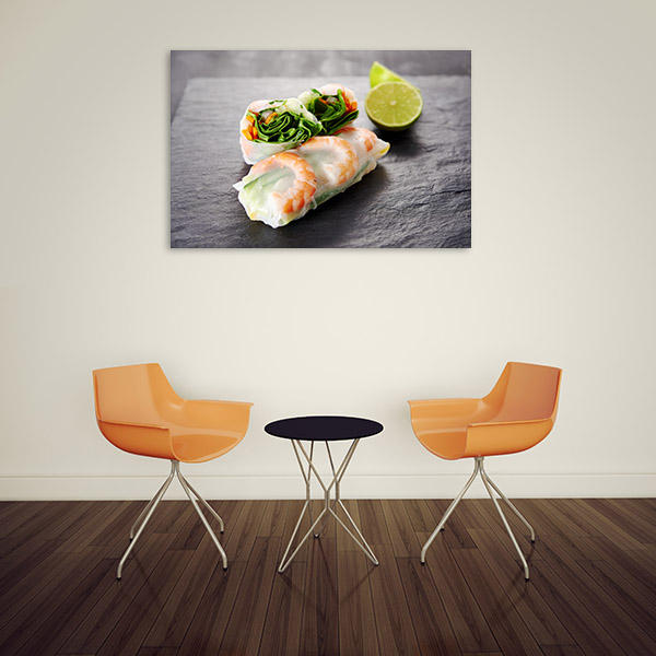 Fresh Spring Roll Photo Art