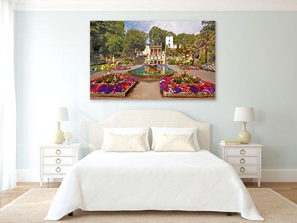 Garden in Portmeirion UK Photo Wall Arts