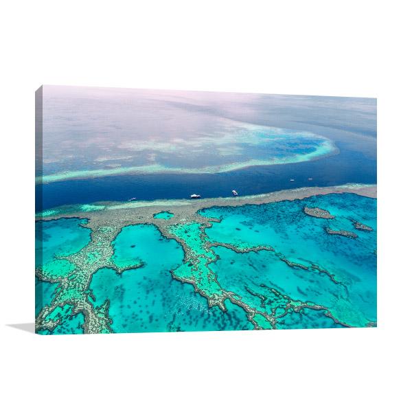 Great Barrier Reef Art Print Australia Artwork Wall