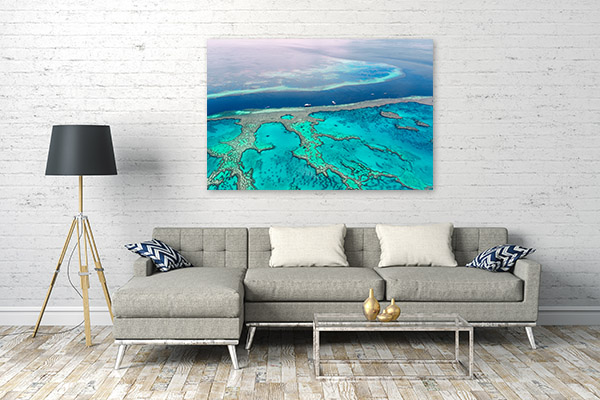 Great Barrier Reef Art Print Australia Picture Canvas