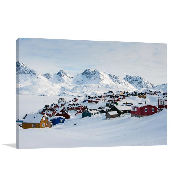 Greenland Art Print Tasiilaq Picture Artwork