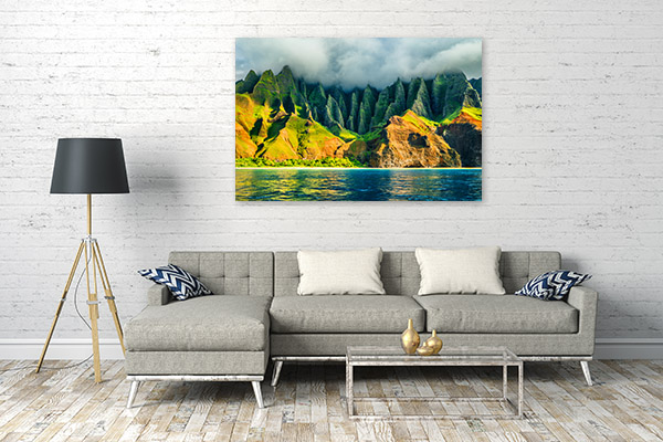 Hawaii Art Print Kauai Artwork Canvas