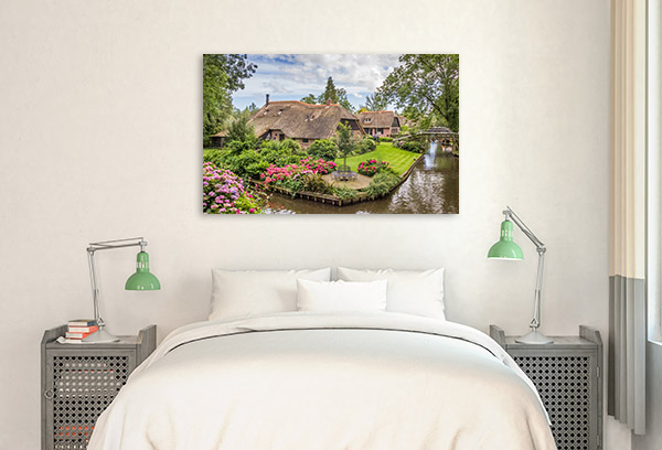 Holland Art Print Giethoorn Photo Wall