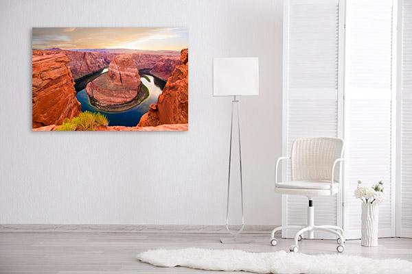 Horseshoe Bend Canvas Photo Print