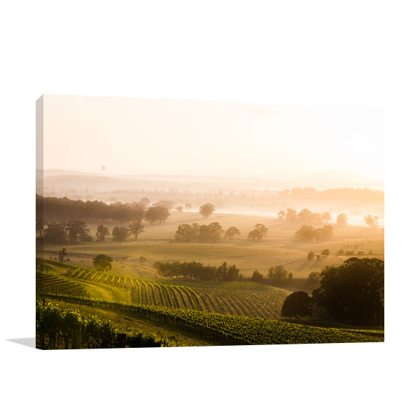Hunter Valley Art Print Sunrise Wall Art Photo Print
