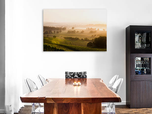 Hunter Valley Art Print Sunrise Canvas Photo Print